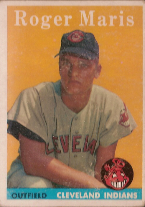 Card Of The Day 1958 Topps Roger Maris Rookie Card