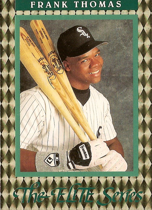 Card Of The Day 1992 Donruss Elite Series Frank Thomas