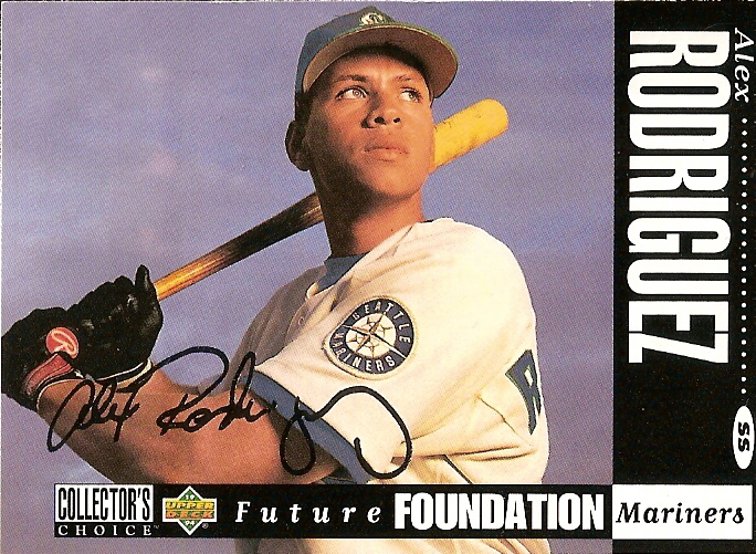 Card Of The Day 1994 Collectors Choice Alex Rodriguez