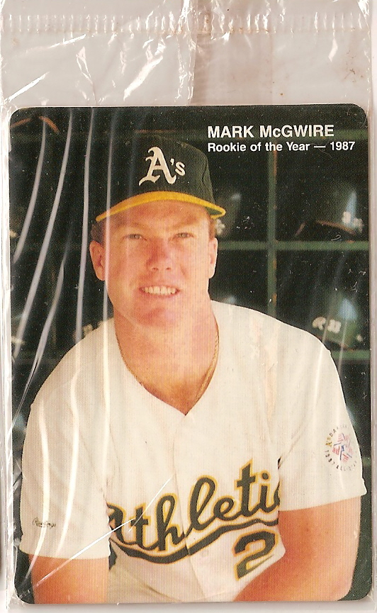 Card Of The Day 1989 Mothers Cookies Mark Mcgwire