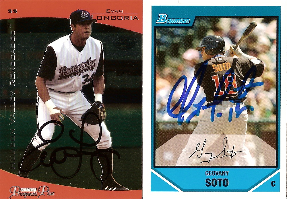 cards of the day 2008 rookie of the year autographs