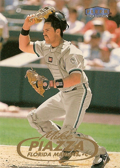 Card Of The Day 1998 Fleer Tradition Mike Piazza Marlins