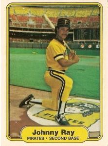 1982 Fleer Johnny Ray rookie