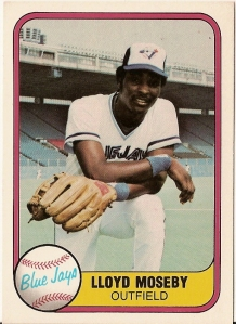 1982 Fleer Lloyd Moseby