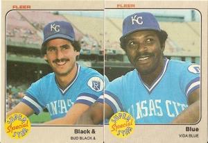 1983 Fleer Black & Blue special (whole)