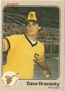1983 Fleer Dave Dravecky rookie