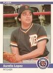 1984 Fleer Aurelio Lopez