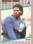 1989 Fleer Pascual Perez