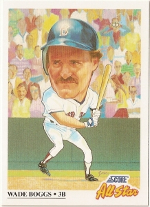 1991 Score All Star Wade Boggs