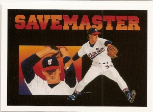 "1991 Upper Deck Bobby Thigpen ""Save Master"""