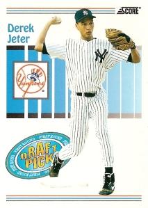 1993 Score Derek Jeter Rookie
