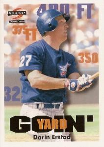 """1997 Score Darin Erstad """"Goin' Yard"""""""