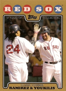 2008toppsgoldredsoxclassiccombos