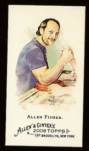 The arm of fisher's opponent here looks phallic.