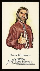 Buddy Christ has a baseball card.