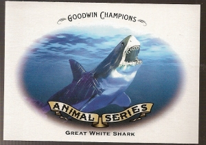Not sure if I like this one better than the Allen & Ginter Great White Shark card.