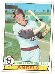 1979ToppsCarneyLansford