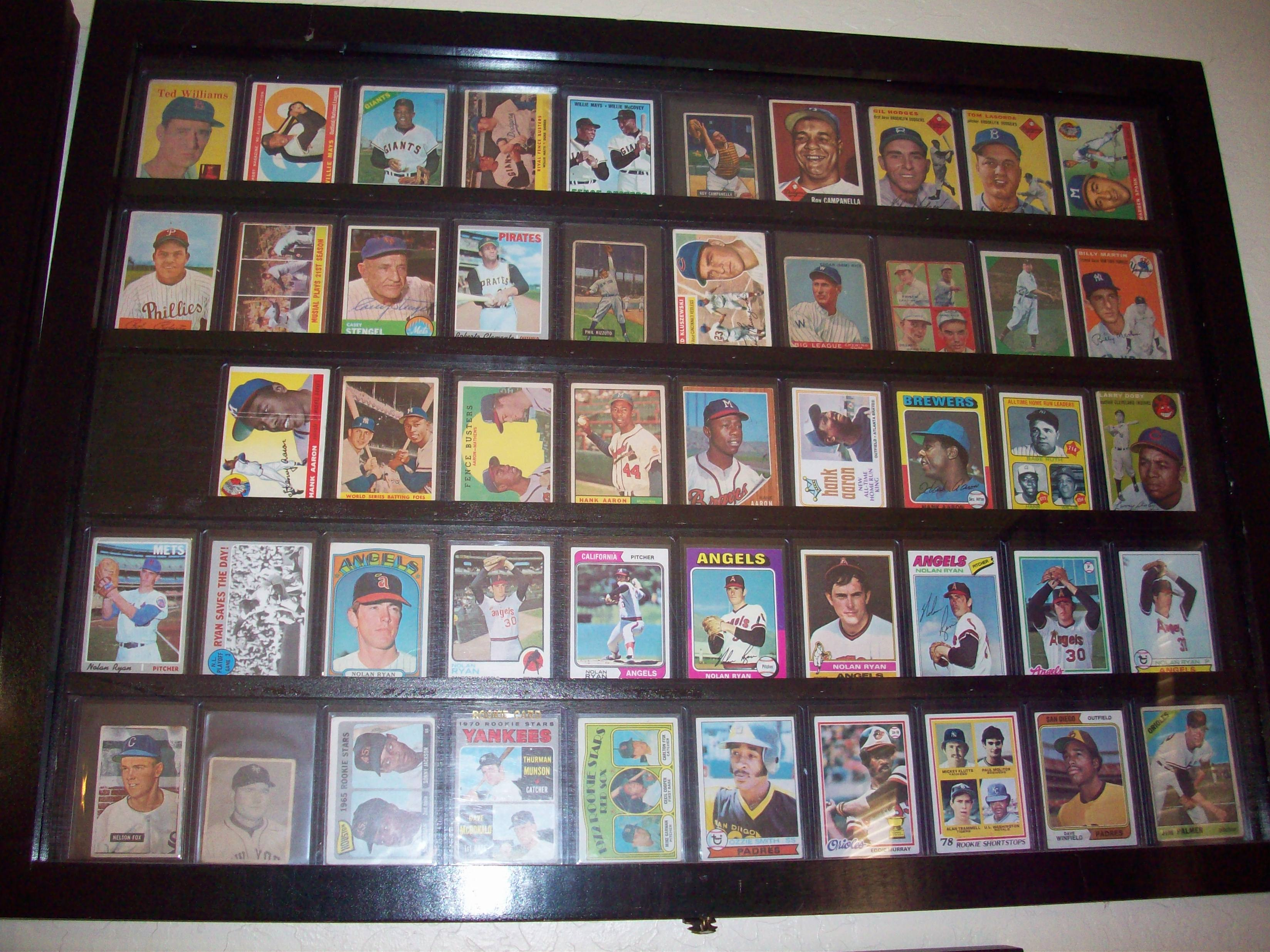 Vintage Baseball Cards Page 5