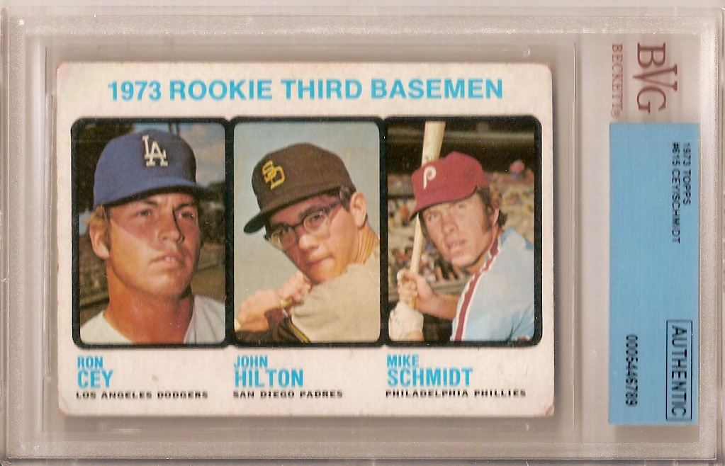 Rookie Card Upgrade 1973 Topps Mike Schmidt Ron Cey