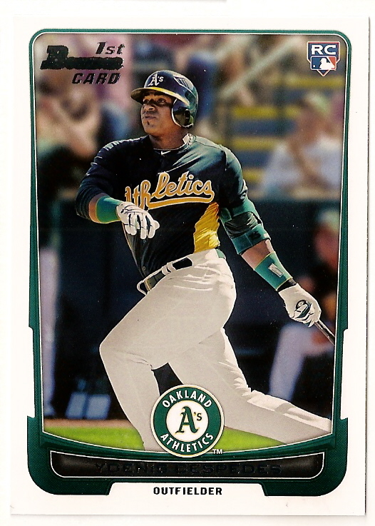 2012 Bowman Baseball Home Of The Oakland As Rookie Cards