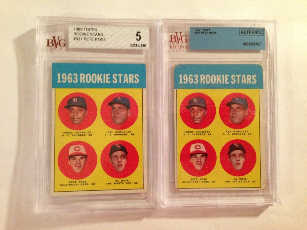 Rookie Card Upgrade 1963 Topps Pete Rose