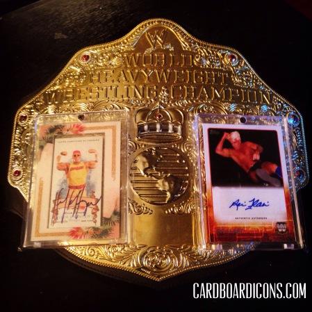 Icon-O-Clasm: Wrestling Icon Autos w/ Belt (Hulk Hogan/Ric Flair)