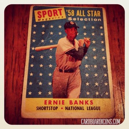 Icon-O-Clasm: 1958 Topps AS Ernie Banks