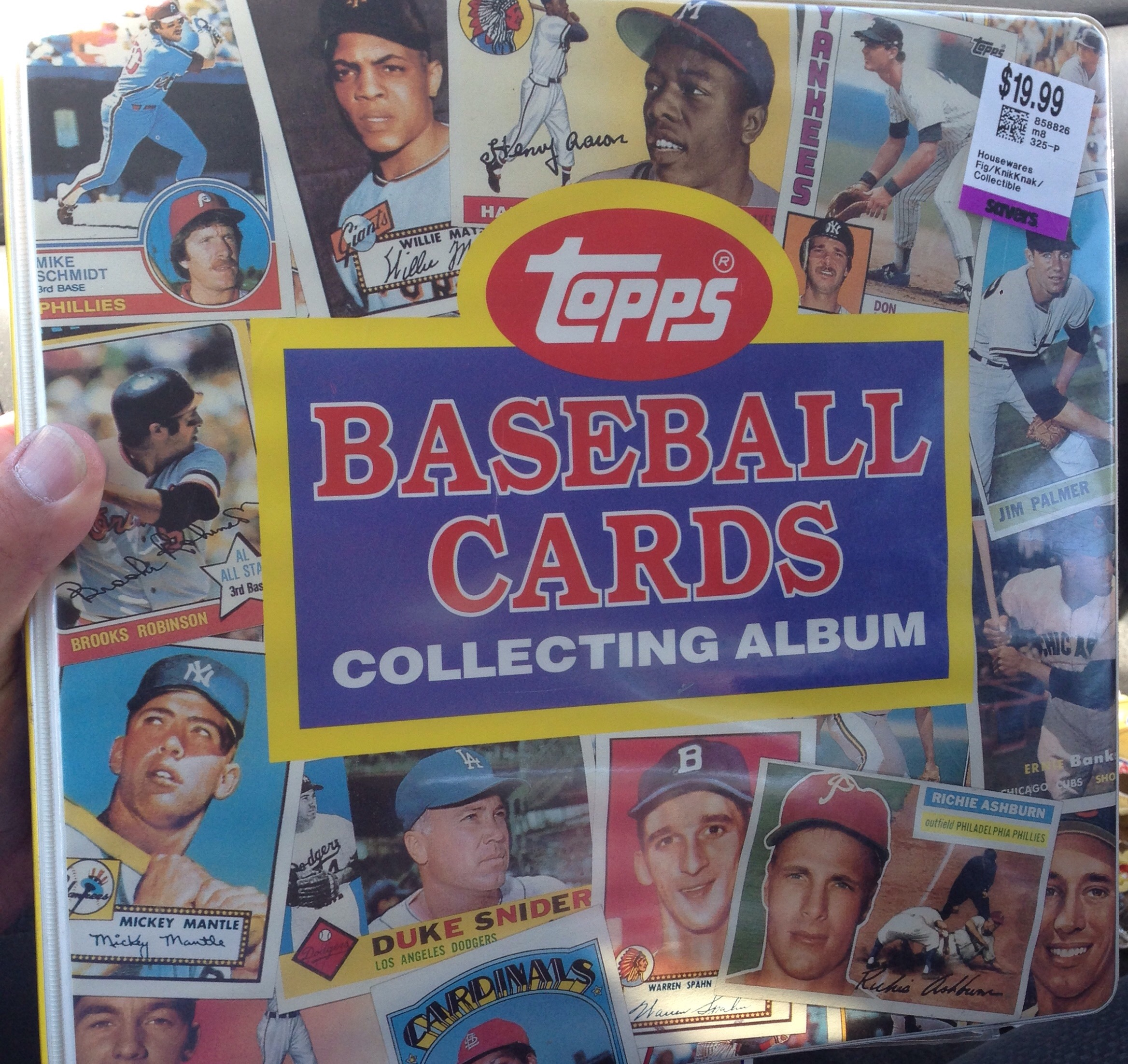 Thrift Treasures 93: The Topps Collectors Album (binder